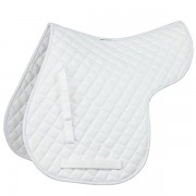Shires Quilted Numnah - White